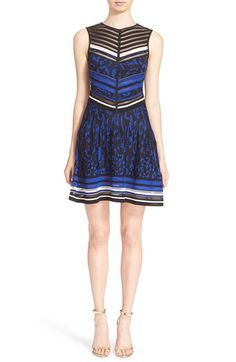 Roberto Cavalli Animal Jacquard Knit Dress available at #Nordstrom