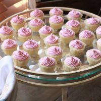 Raspberry Cream Cheese Mini-Cupcakes