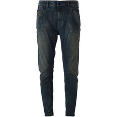 Diesel Black Gold Type-147 Tapered Jeans ($428) ❤ liked on Polyvore