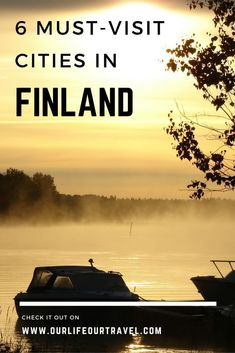 The must-see cities in Finland. Besides Helsinki, Turku and Rovaniemi, you can read about several off-the-beaten-path destinations too, such as Kemi, Joensuu and Tampere. Cities In Finland, Finland Travel, Finland Tour, Turku Finland, Helsinki, Lappland, Europe Travel Tips, European Travel, Europe Packing