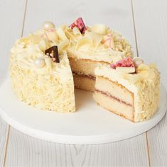 Sainsburys White Chocolate Cake
