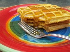 Spiced Pumpkin Waffles Recipe #FoodRepublic