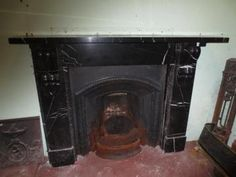 Marble Fire Surround, Victorian Fireplace, Fireplaces, Antiques, Home Decor, Fireplace Set, Antiquities, Fire Places, Antique