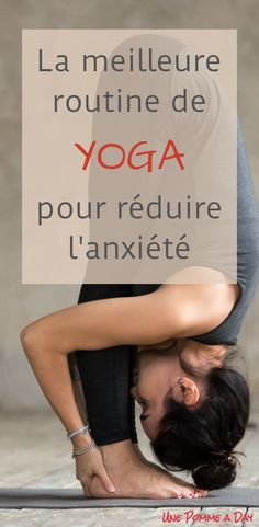 Best yoga routine to alleviate anxiety Anxiety can sometimes show up unexpectedly, but we should have many tools we can use when it happens! This way, we know how to quickly find that feeling of wellbeing again. Easy yoga routine for beginners as well. Quick Weight Loss Tips, Weight Loss Help, Weight Loss Program, Losing Weight, Fitness Workouts, Fitness Tips, Yoga Fitness, Physical Fitness, Fitness Icon