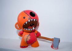 Kidrobot MUNNY World 6.5 Pollici Figura Trikky-VINILE fai da te