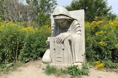This is what those mysterious concrete sculptures are in Toronto's Lower Don Trail