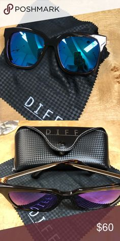 280d313285c DIFF eyewear sunnies ☀ ☀ ☀ With cloth and case Worn twice on