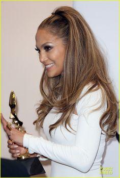 Jennifer Lopez is a Vision in White at Billboard Music Awards 2014 Press Room! | jennifer lopez vision white billboard press room 11 - Photo...