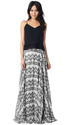 A voluminous skirt comprised of gauzy fabric adds a stunning touch to your ensemble and feels absolutely ethereal. Our new Tokyo Dot print features a...