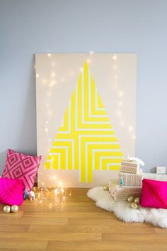 If you like pink and yellow over red and green, then traditional Christmas trees might not be your cup of tea. Any one of these brilliantly-hued decorations will provide happy holiday cheer this season, and bring new meaning to the term merry and bright.