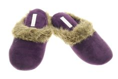 Charter Club Women's Casual Slip-on Velour Faux Fur Trim Clog House Shoes Slippers -  	     	              	Price:              	View Available Sizes & Colors (Prices May Vary)        	Buy It Now      Slip into something more comfortable. Charter Club's women's plushest slippers are cushioned, cozy and classically pretty. Give them as a gift and they'll be cherished every...