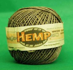 Brown Polished Hemp Ball