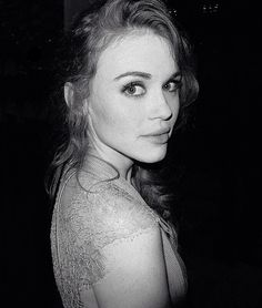 Holland Roden, 2014 photographed by Justin Campbell.