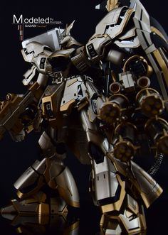 GUNDAM GUY: MG 1/100 Sazabi Ver. Gold - Customized Build