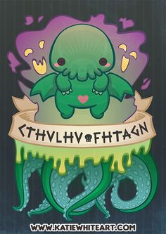cthulhu cultist # * character design witch ` yoga poses for flexibility ` medieval fantasy art ` face mask pattern medical ` cthulhu cultist Cthulhu Art, Cthulhu Tattoo, Call Of Cthulhu, Hp Lovecraft, Lovecraft Cthulhu, Lovecraftian Horror, Dibujos Cute, Posca, Creepy Cute