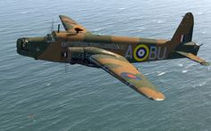 Great Britain's Vickers Wellington Bomber.