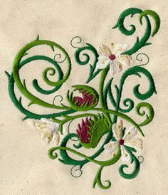 Venus Flytrap | Urban Threads: Unique and Awesome Embroidery Designs