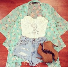 Causal country summer outfit mint green short cute combine summer Teen fashion Cute Dress! Clothes Casual Outift for • teens • movies • girls • women •. summer • fall • spring • winter • outfit ideas • dates • school • parties mint cute sexy ethnic skirt