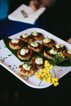 DUNGENESS CRAB CAKES with tarragon lemon aioli. Ravishing Radish Catering | Lucid Captures Photography