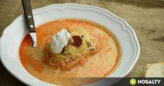 Korhelyleves az év első napjára recept képpel. Hozzávalók és az elkészítés részletes leírása. A korhelyleves az év első napjára elkészítési ideje: 195 perc Gazpacho, Evo, My Recipes, Hummus, Thai Red Curry, Soup, Lunch, Ethnic Recipes, Sunday