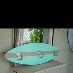 Surf board coat/swimsuit rack
