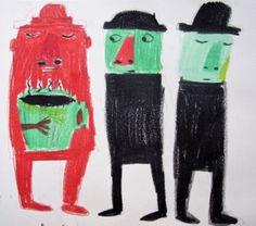 children illustration projects by Daniela Martagón, via Behance