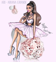 #Hayden Williams Fashion Illustrations: #Ari by Hayden Williams
