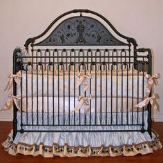 Little Boy Blue Baby Bedding from PoshTots
