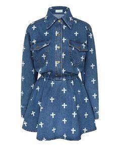 Denim Goth Dress · Kokopie · Online Store Powered by Storenvy $42.00