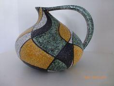 Kurt Tschörner Design Keramik Vase 50er 60er RUSCHA | eBay