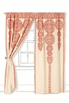 Anthropologie Marrakech Curtains #anthropologie #pin to win