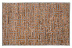 Papyrus II Jute-Blend Rug, Tan on OneKingsLane.com