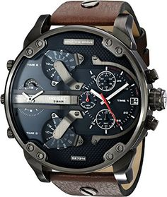 Diesel Men's Mr. Daddy DZ7314 Brown Leather Quartz Watch Diesel https://www.amazon.ca/dp/B00KNK84TG/ref=cm_sw_r_pi_dp_DHScxb6H0QKXB