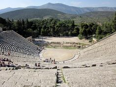 The Restless Raconteur: Greece - Corinth, Epidaurus, Mycenae