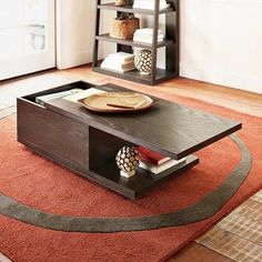 West Elm Sliding Top Coffee Table This Is An Essential For Ny Apartment Storage Solutions