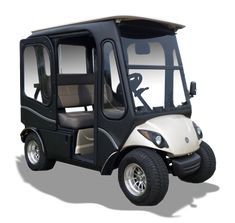 SleekLine Cabins - Home of Class Golf Cart Enclosures - newGallery Golf Cart Enclosures, Golf Cart Covers, Electric Golf Cart, Electric Cars, Yamaha Golf Carts, Golf Cart Parts, Custom Golf Carts, Golf Cart Batteries, Golf Simulators