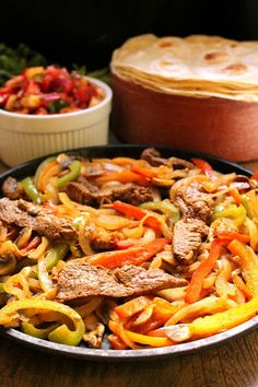 The Stay At Home Chef: Flank Steak Fajitas