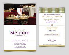 Flyer // Mercure Hôtels