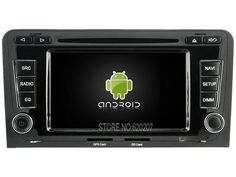 Android 5.1.1 CAR Audio DVD player gps  FOR AUDI A3/S3/RS3(2003-2012) Multimedia navigation head device unit  receiver