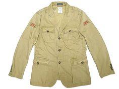 POLO by Ralph Lauren WWII British Military JK Sale Sample ムラ糸 ツイル地 - Luby's (ルビーズ)