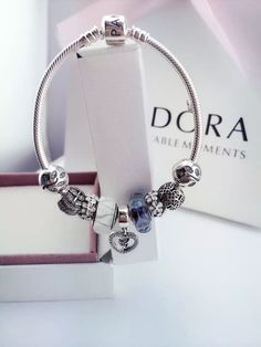 50% OFF!!! $239 Pandora Charm Bracelet. Hot Sale!!! SKU: CB01147 - PANDORA Bracelet Ideas