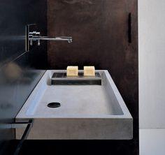essenziale e minimale, linee squadrate per le collezioni Moab 80 www.gasparinionline.it #bagno #design #interiors