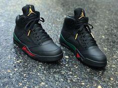 """Custom """"Gucci"""" Air Jordan 5"""