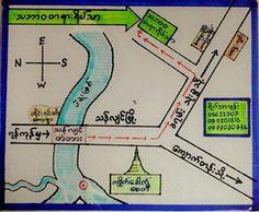 Thabarwa centre volunteering Volunteers Around The World, Burmese, Centre, Around The Worlds, Map, European Burmese, Maps, Peta