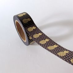 Thin, airmail Japanese Washi Tape. Use it for awesome wrapping, labeling, planning, decorating or just about anything.