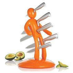 THE EX Kitchen Knife Set by Raffaele Iannello, Orange by CSB, http://www.amazon.com/gp/product/B004JHXO7Q/ref=cm_sw_r_pi_alp_YOi0qb0JQYJH3