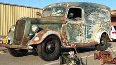 Nice Great 1937 Ford Other 1937 FORD PANEL Truck Great Patina Flathead V8 Unrestored Street Rod Rat Rod 2017 2018