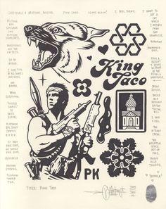 """King Taco"", 2015."