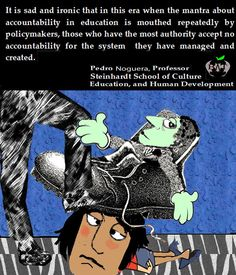 The politicians & policy makers want schools to be accountable, but not themselves. @BadassTeachersA #TBATs