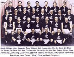 Celebrating the Carlton Football Club's 16 Premierships. 1945 Grand Final: Carlton 15.13.103 def South Melbourne 10.15.75.